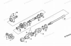 Arctic Cat Atv 2003 Oem Parts Diagram For Secondary Drive