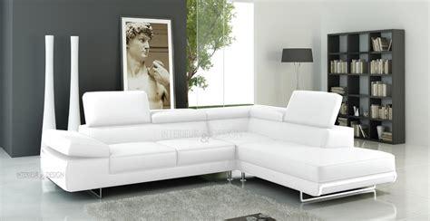 canapé blanc angle photos canapé d 39 angle cuir blanc italien