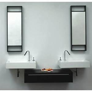 Meuble Vasque Double : meuble double vasque moderne accueil design et mobilier ~ Teatrodelosmanantiales.com Idées de Décoration