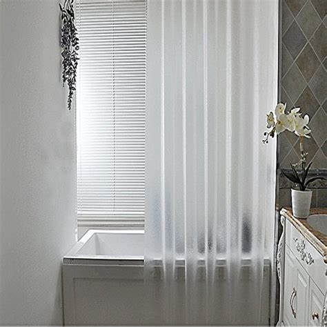 72x78 shower curtain aoohome frosted shower curtain liner
