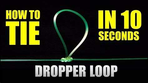 fastest dropper loop  paternoster rig   tie