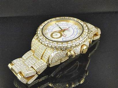 Rolex Expensive Watches Diamond Gold Luxury Wallpapers