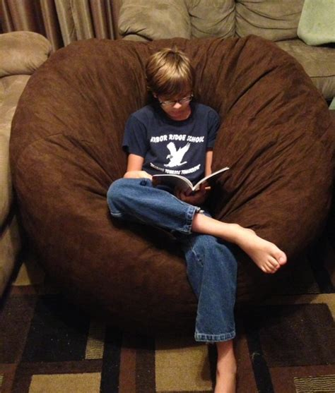 fuf bean bag chair fuf chair review and giveaway who said nothing in