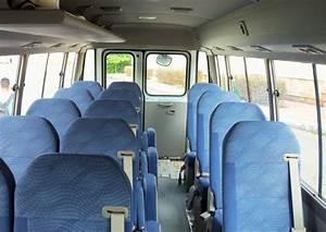 Toyota Coaster Interior