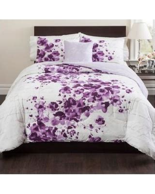 purple bedroom comforter sets fall shopping special cheshire reversible comforter set 16839