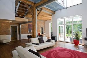 Renoviere Die Scheune : wohnzimmer mit offener galerie wohnzimmer pinterest wohnzimmer haus umbauen und umbau ~ Bigdaddyawards.com Haus und Dekorationen
