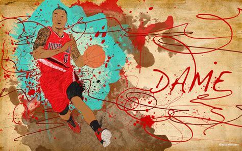 Damian Lillard Background Damian Lillard Iphone Wallpapers Desktop