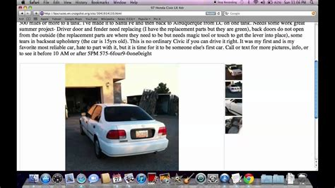 craigslist las cruces nm  cars  trucks