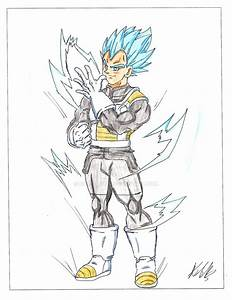 vegeta super saiyan god super saiyan by crazyart26 on ...