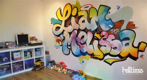 decoration chambre princesse graffiti fresque chambre enfant halltimes graffeur