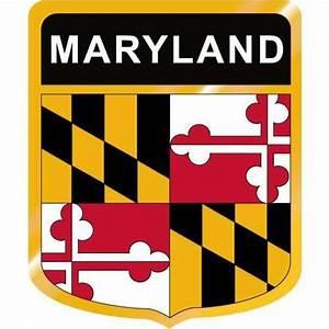 Maryland Flag Crest Clip Art