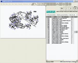 Kubota  Spare Parts Catalog  Heavy Technics   Repair