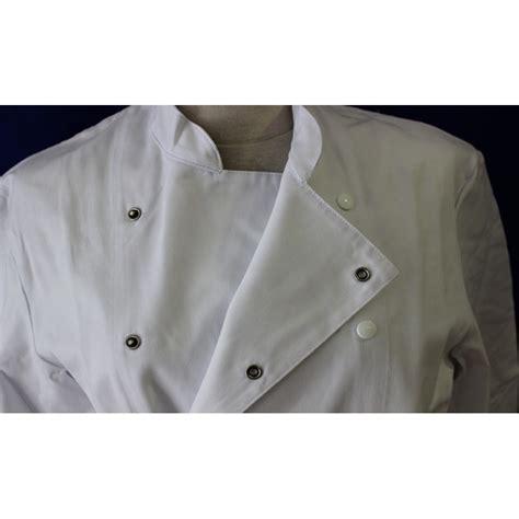 veste de cuisine pas chere veste de cuisine blanche homme à manche longue pas cher