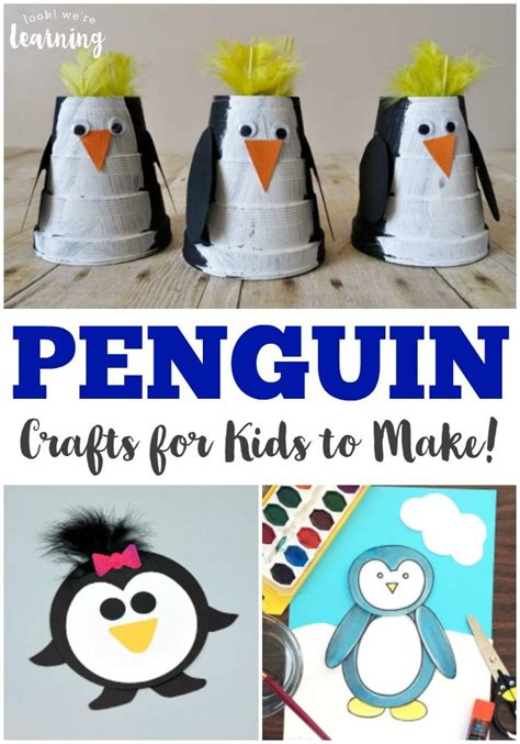 penguin crafts for creations penguin craft 178 | e37df0134653d84562e1fea467fb20b3