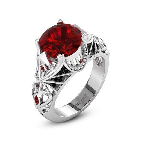 gothic wedding rings gothic wedding rings