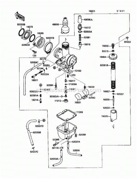 Kawasaki Bayou Parts Diagrams Automotive
