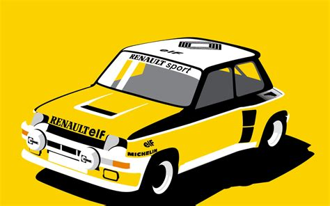 Brighten Up Your Week With This Awesome Renault 5 Turbo