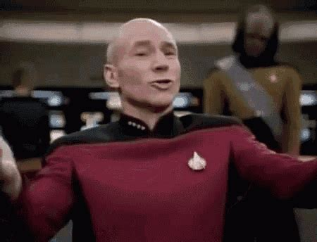 Meme What The Fuck - why the fuck star trek the next generation gif whythefuck picard captainjeanlucpicard