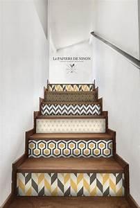 beautiful escalier peint 2 couleurs 4 les 25 meilleures With escalier peint 2 couleurs