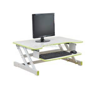 wooden stand up desk computer standing desk portable laptop computer table
