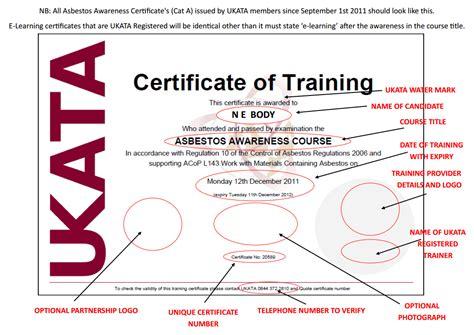 ukata certificates bainbridge