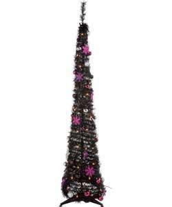argos christmas lights sale tree black with magenta decorations lights 6ft pop up argos 163 10 00