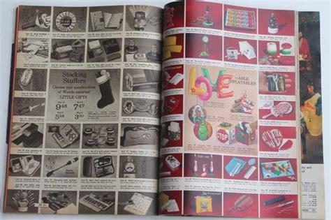 vintage montgomery wards christmas  book catalog