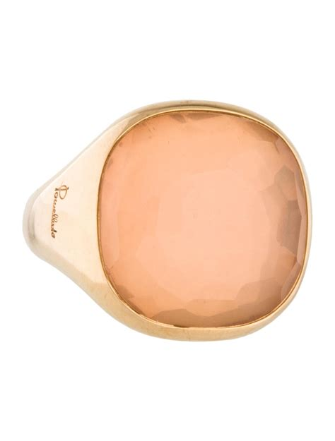 Pomellato Cipria by Pomellato Cipria Quartz Ring Rings Pom20361 The