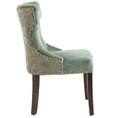 hourglass dining chair gray damask carmilla blue damask dining chair damasks and dining chairs