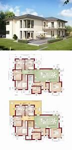 Bauen Zweifamilienhaus Grundriss : zweifamilienhaus mit walmdach und einliegerwohnung bauen ~ Lizthompson.info Haus und Dekorationen