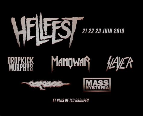 agenda  metal hellfest