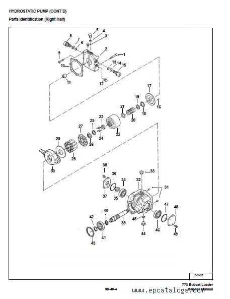 Drive Bobcat 773 Part Diagram by Bobcat 773 773 Hf 773 Turbo G Series Service Manual