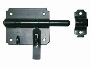 Verrous De Porte : verrou de box porte cadenas 10 mm castorama ~ Edinachiropracticcenter.com Idées de Décoration