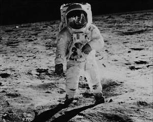 1969 Moon Landing Black and White (page 2) - Pics about space