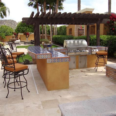ideas for outdoor kitchens ideas for outdoor kitchen plans mybktouch com