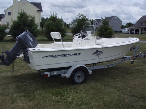 Boats For Sale Near Ct by Sold 2004 Aquasport 175 Osprey Cc Sold The Hull