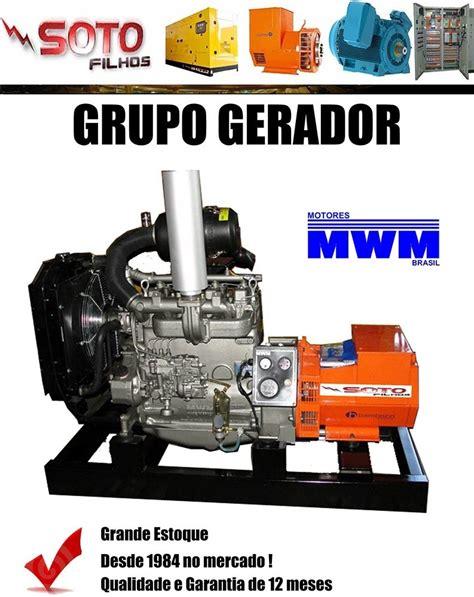 grupo gerador de energia 40 kva motor mwm 229 3 r 44 000 00 em mercado livre