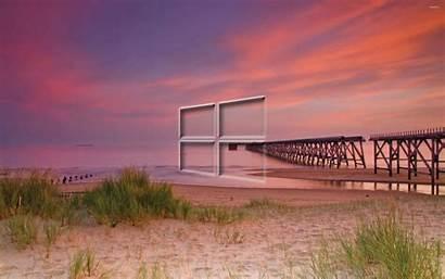 Windows Wallpapers Beach Pier Transparent Desktop Cool