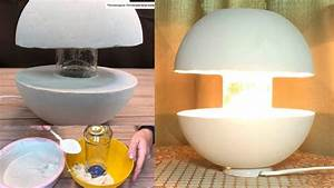 Amazing, Concrete, Lamp, How, To, Make, Your, Own, Hands