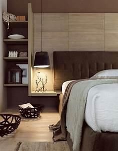 Tete De Lit Cloutée : t te de lit avec rangement pour une chambre plus organis e ~ Teatrodelosmanantiales.com Idées de Décoration