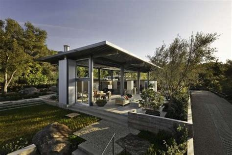 huis 40m2 sharp steel homes montecito residence by barton myers