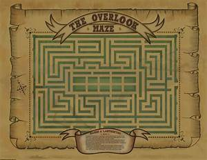 The Shining : Overlook Maze | Mazes: Design the Path ...