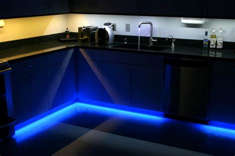 led kitchen  cabinet  toe kick lighting