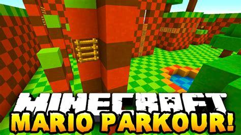minecraft mario parkour  wprestonplayz vikkstar