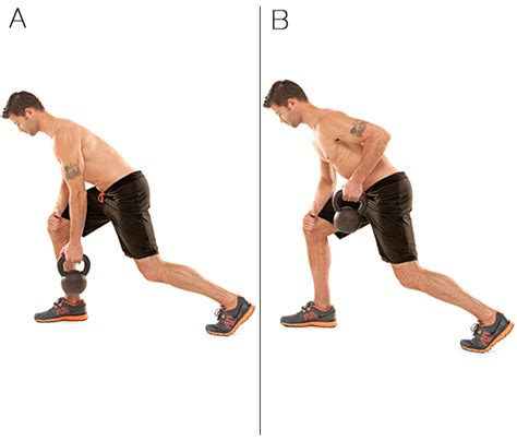 row kettlebell arm body kb exercises lunge leg pull bent pear bend left right upper position down elbow shape lower
