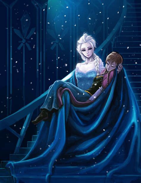 und elsa le frozen elsa by kimbbq on deviantart