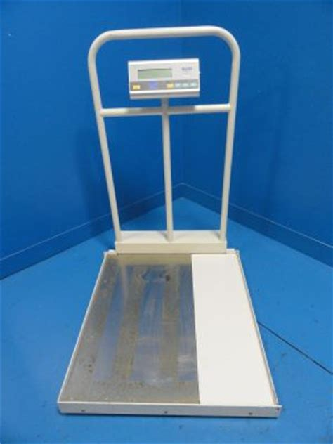 used tanita digital wheel chair scale stand scale for