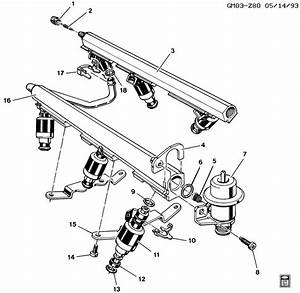 Chevrolet Malibu Seal Kit  Multi Port Fuel Injection Fuel
