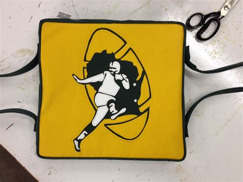 Chicago Upholstery School by Vintage Packers Logo Preserver