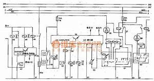 The Emission Control And Air Conditioning Schematic Circuit Of Toyota Land Cruiser 70 Light